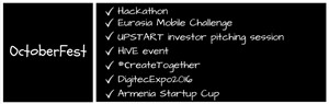Startup & IT events you should not miss this autumn