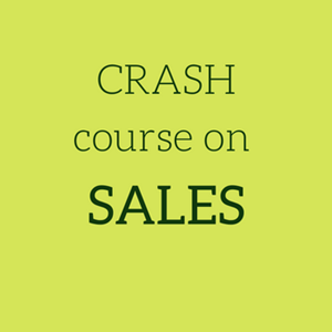 CRASH Course on SALES from IE Business School