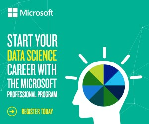 Start your data science career with the Microsoft Professional Program