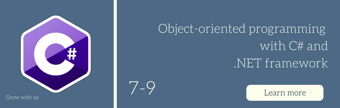 Object-oriented programming with C# and  NET Framework